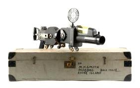 Cased WWII Japanese Military Troop Movement Machine Gun