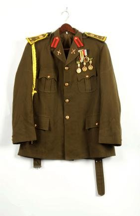 Lot Of 2: Russian Uniform, Tunic and Trousers.