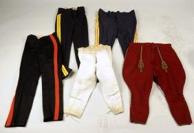 Lot Of 5: Assorted Military Trousers.