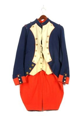 Theatrical French Napoleonic Officer's Coat and