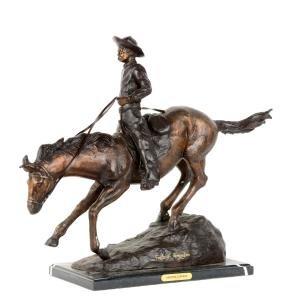 Frederick Remington's Arizona Cowboy.