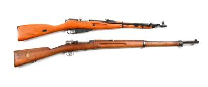 (C) Lot Of 2: Foreign Military Rifles.