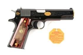 (M) Boxed Colt NRA Custom Model 1991A-1 Semi-Automatic