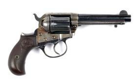 (C) Colt Model 1877 Lightning Revolver.