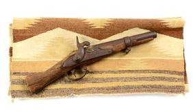 (A) Springfield 1837 Blanket Gun with Native American