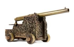 Scarce Experimental Whitworth Cannon on Ornate