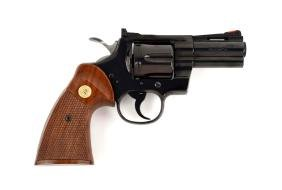 "(M) Boxed Colt 3"" Python Double Action Revolver With"