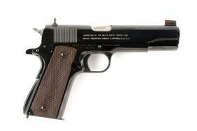 (C) U.S. Navy Remington-Rand Model 1911-A1 Presentation