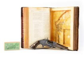 (A) Book Cased S&W Model 1 - 1/2 First Issue Spur