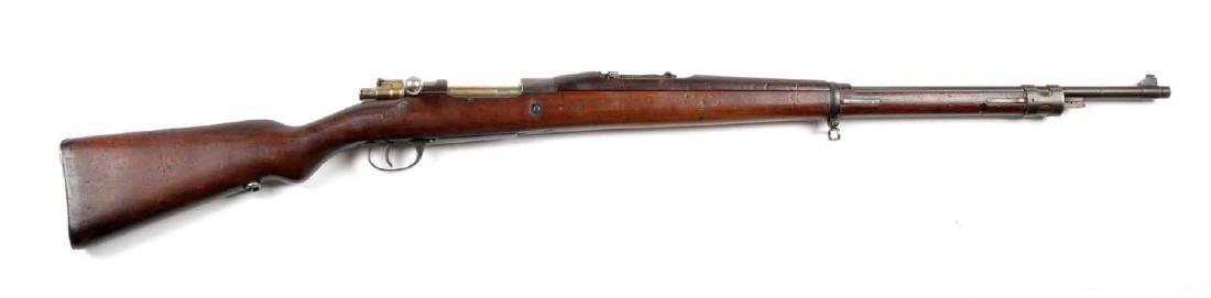 (C) Model 1909 Argentine Mauser Rifle.