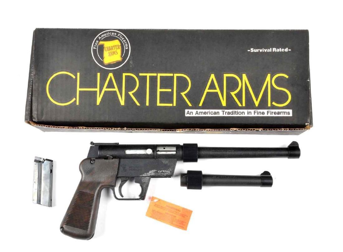 (M) MIB Charter Arms Explorer II Semi-Auto Pistol.