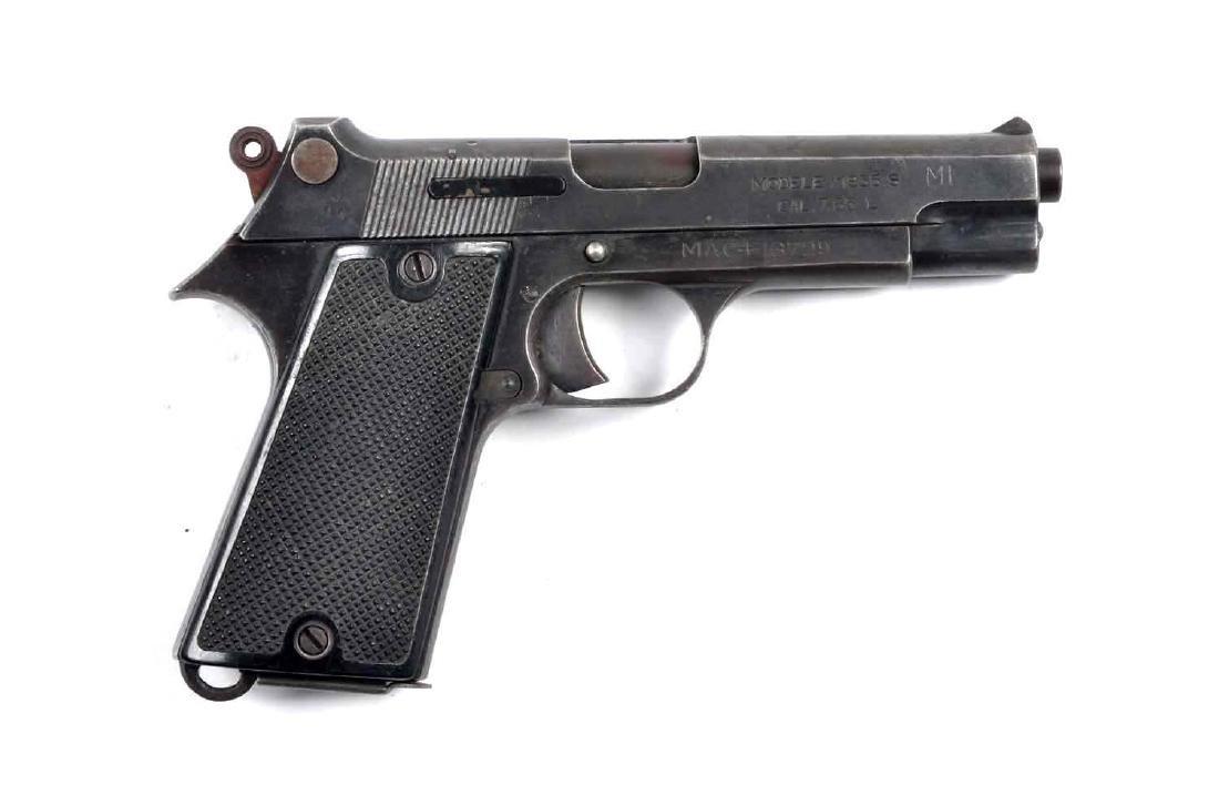 (C) M.A.C. Model 1935 Pistol.