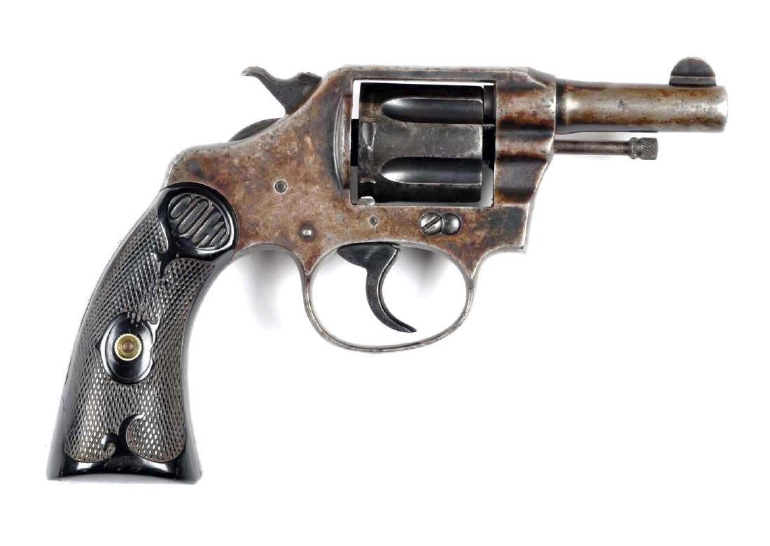 (C) Colt Police Positive Double Action Revolver.