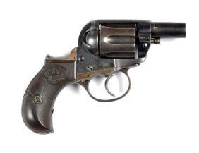 (C) Altered Colt Model 1877 Lightning Revolver.