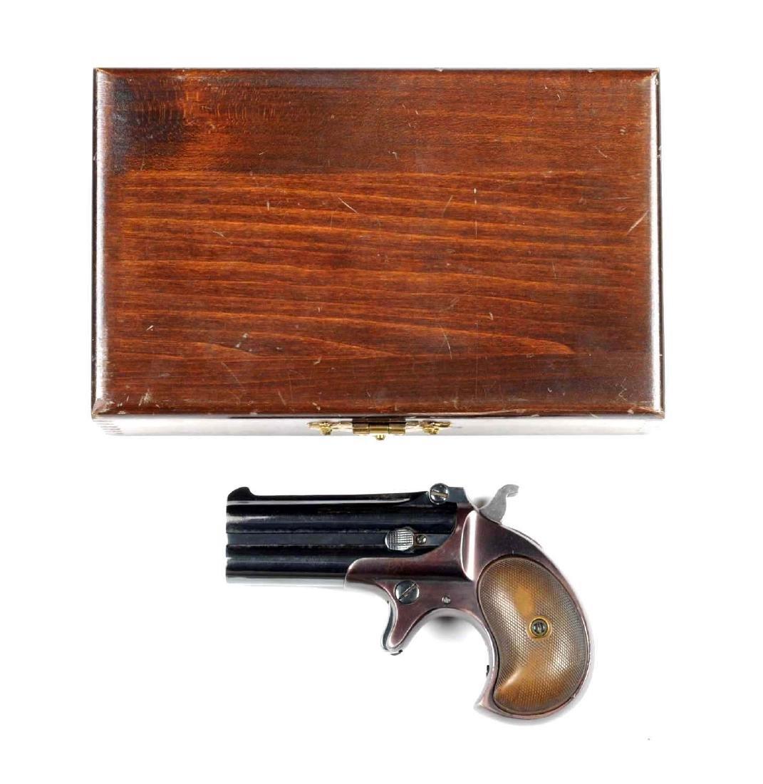 (C) Remington .41 Caliber Double Deringer.