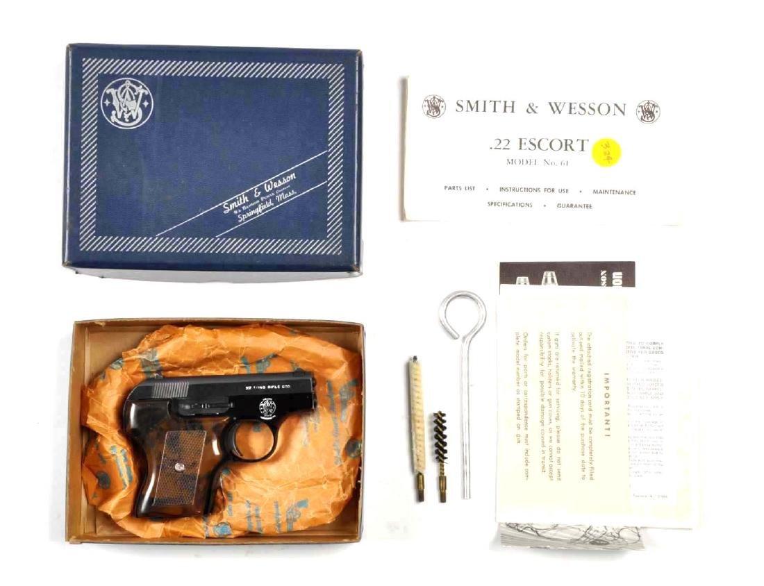 (M) Boxed S&W Model 61-3 Pocket Escort Pistol.