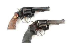 (M) Lot of 2: S&W Double Action Revolvers.