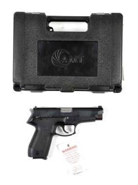 (M) MIB AMT Double Action Semi-Automatic Pistol.