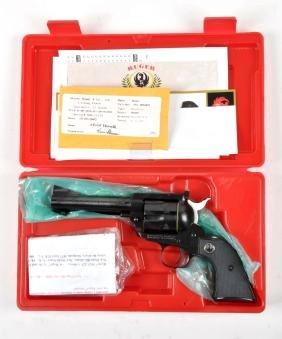(M) Cased Set (2) 50th Ann.Blackhawk Revolvers.