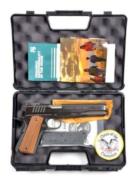 (M) MIB Hi-Standard Supermatic Trophy Match Pistol.
