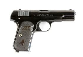 (C) Colt Model 1903 Semi-Automatic Pistol.