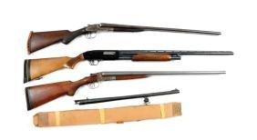 (M&C) Lot Of 3: Shotguns.