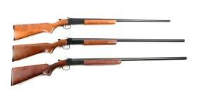 (M) Lot Of 3: Boxed Winchester Single Shot Shotguns.