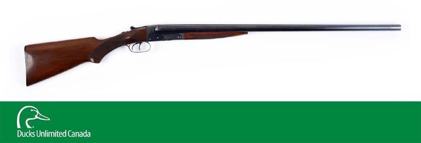(C^) High Condition Winchester Model 21 SxS 12 Bore