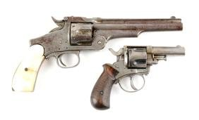 Lot Of 2: Antique Western Revolvers.