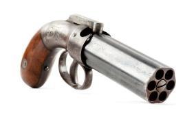 """(A) Allen & Thurber """"Pepperbox"""" Pistol."""
