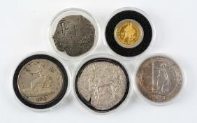 World Trade Coins 5 Piece Proof Set.