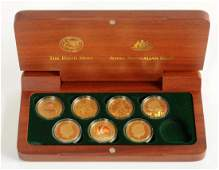 2000 Sydney Olympic Gold Proof Set.