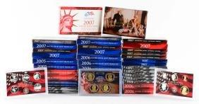 Large Lot of U.S. Mint Proof Sets.