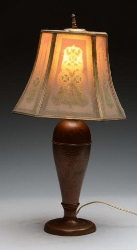 Mission Style Arts & Crafts Lamp,