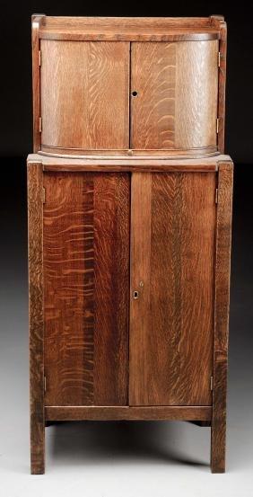 Arts & Crafts Bar/Liquor Cabinet.