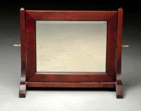 Contemporary Mission Style Shaving Mirror.
