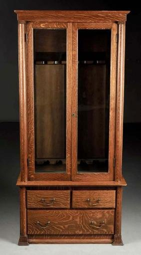 Two Door Gun Cabinet.