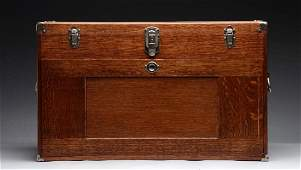 Gerstner Oak Machinist Chest with Tools.