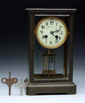 Crystal Regulator Clock.