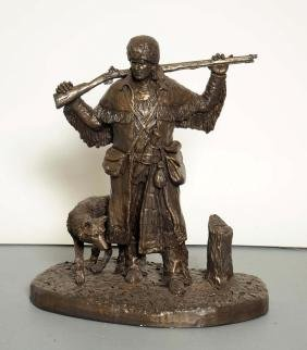 Bronetone Sculpture Michael Garman.
