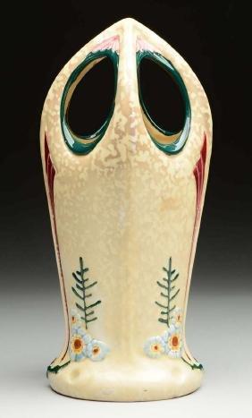 Royal Dux Art Nouveau Vase.