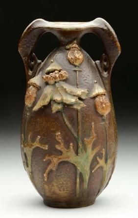 Amphora Thistle Vase.