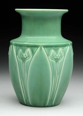 Green Rookwood Vase.