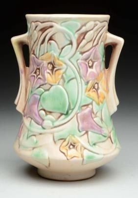 Roseville Morning Glory Vase.