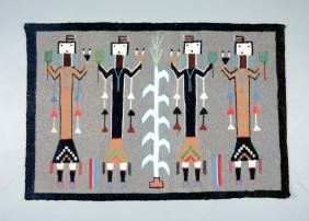 Contemporary Native American Rug.