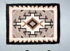 Small Navajo Weaving.