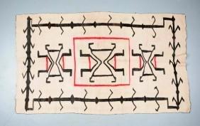 Unusual Navajo Weaving.