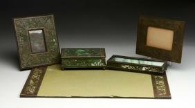 Lot Of 5: Vintage Tiffany & Co. Desk Pieces.