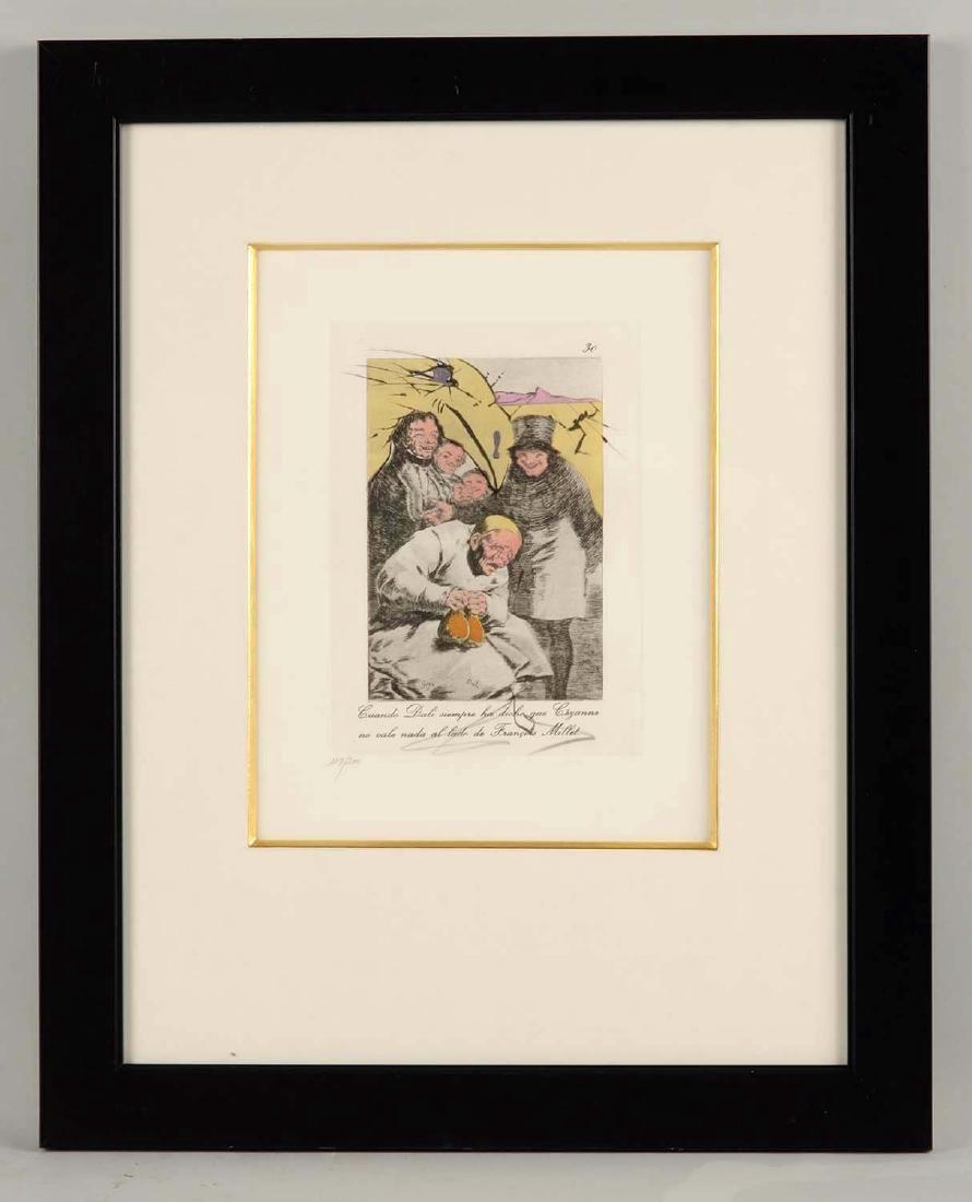 Salvador Dali Les Caprices de Goya.