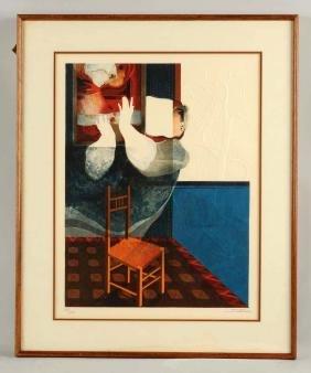 Alvar Abstract Chair